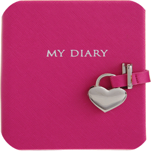 Pink Diary with Lock