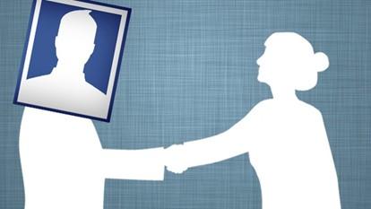 Facebook handshaking with people