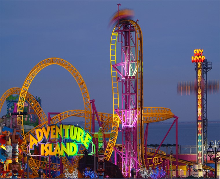 Amusement Parks In Delhi(Adventure Island)
