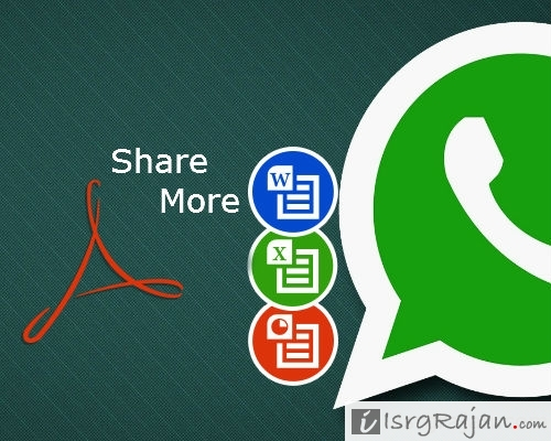 WhatsApp very soon to launch MS Word Excel PPT and PDF sharing