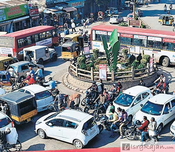 Jabalpur Teen Patti, Teen Pati traffic