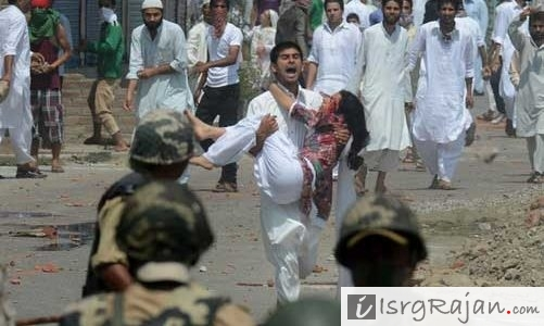Riots in Kashmir