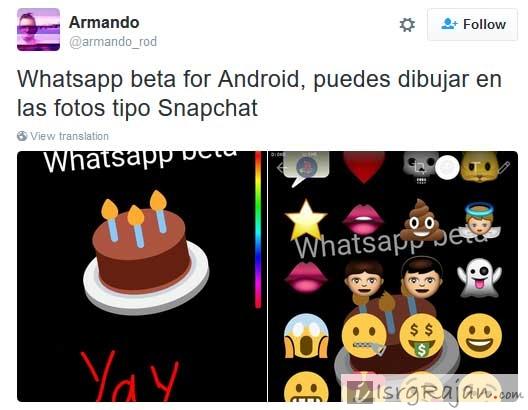 Whatsapp Sticker Features