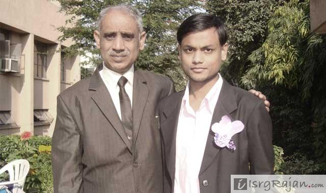 Isrg Rajan with anil kumar tripathi