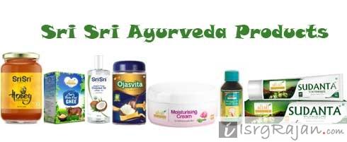 Sri Sri Ayurveda Products