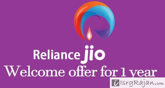 2 Ways to Get Reliance Jio Welcome offer for 1 year