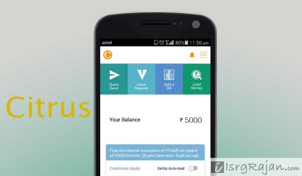 Citrus Pay eWallet App
