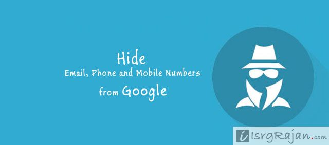 3 Ways to Hide Phone, Email and Mobile Numbers on Website from Google Search