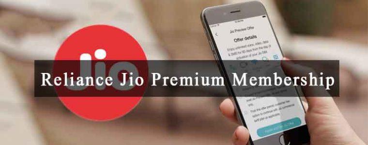Reliance Jio Premium Membership