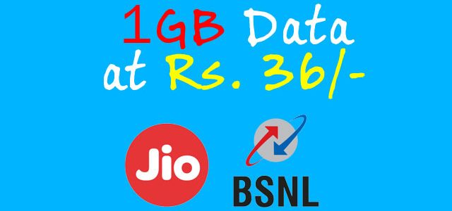 BSNL and Reliance Jio