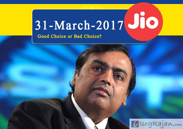 Is Reliance Jio right choice for you even after 31st March 2017?