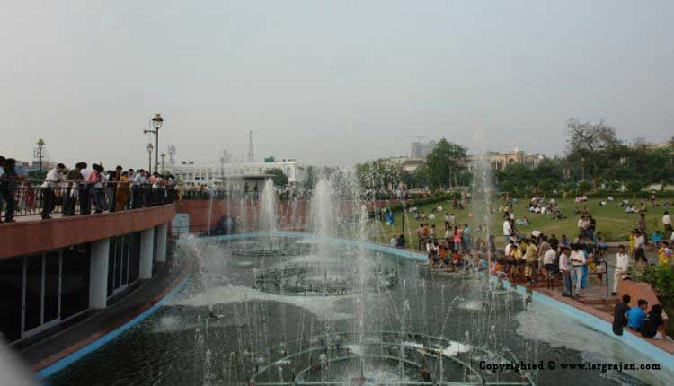 Connaught Place, Park, Fountain