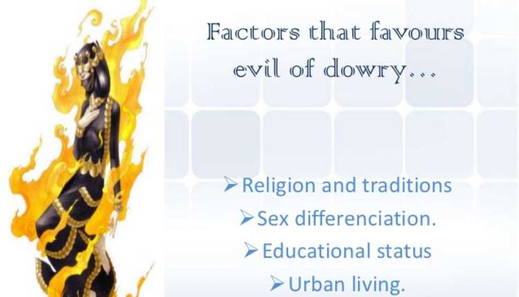 Indian dowry system and practice