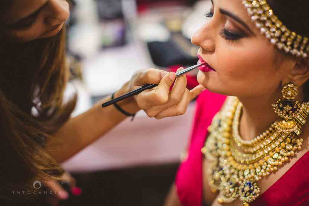 indian bridal makeup artist