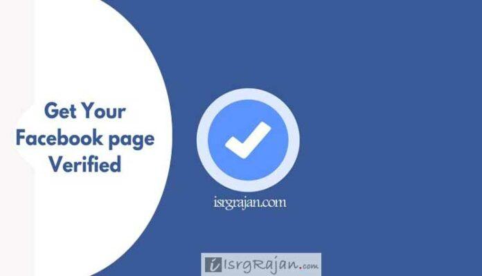 Facebook account verification
