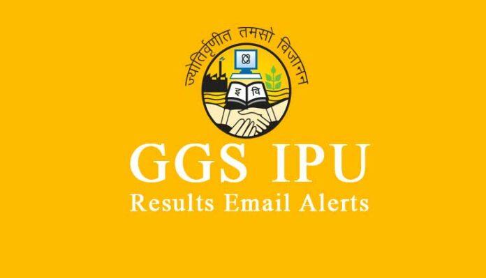 GGSIPU Results Alert