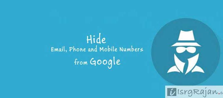 Google Search hide number