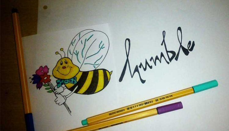 Humble Bee with Flower