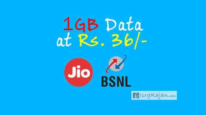 Jio and BSNL