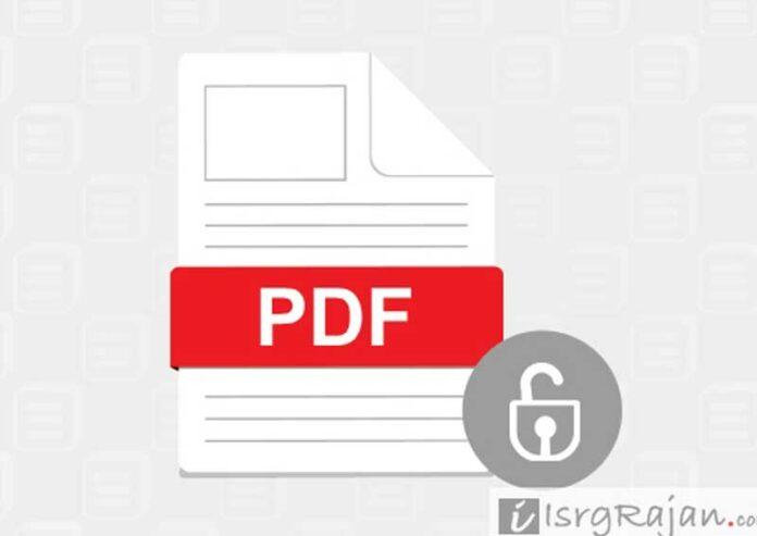 Non editable PPT PDF file