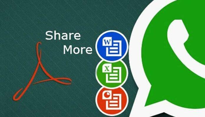 Whatsapp share pdf docs