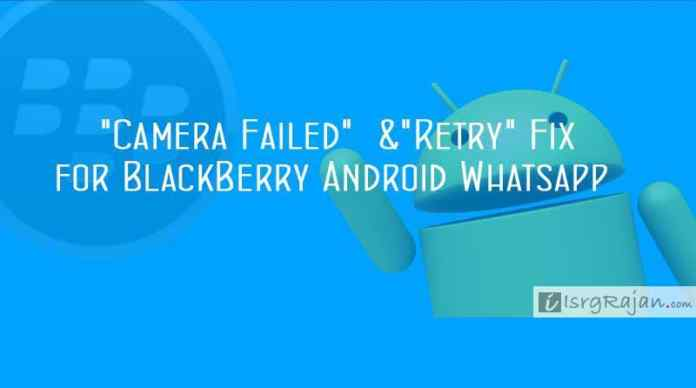 Blackberry Android Whatsapp