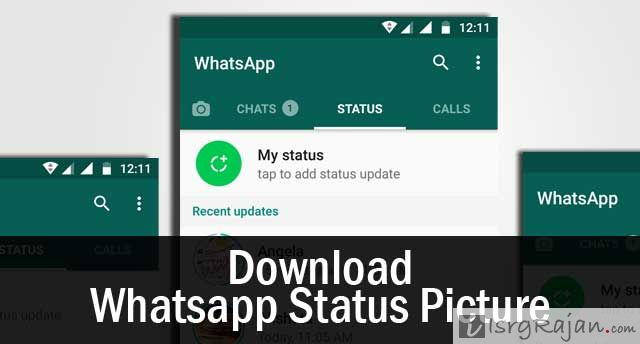 How To Download Whatsapp Status Photos And Videos