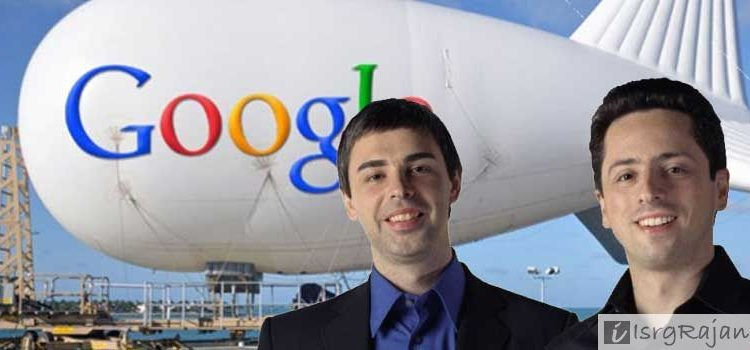Founder of Google Larry Page and Sergey Brin