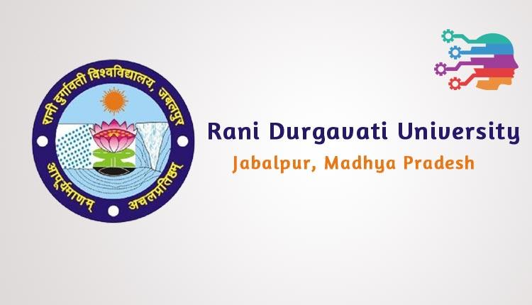 Rani Durgavati University, RDVV, Jabalpur