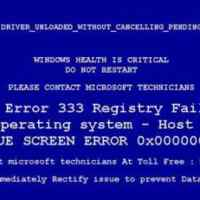 FakeBsod to lock your web browser
