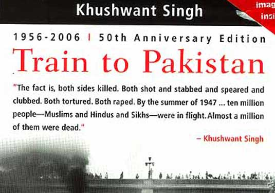 TRAIN TO PAKISTAN BY KHUSWANT SINGH