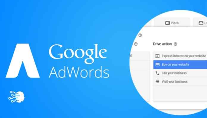 google adwords new design