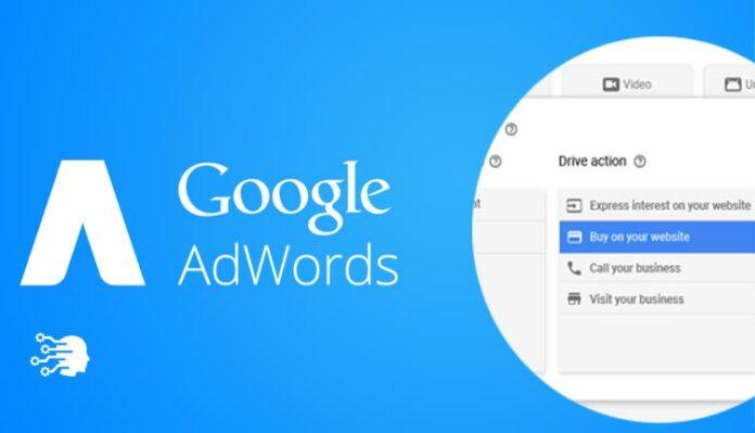 google adwords new design