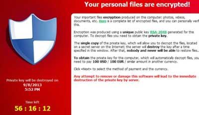 Ransomware Crilock