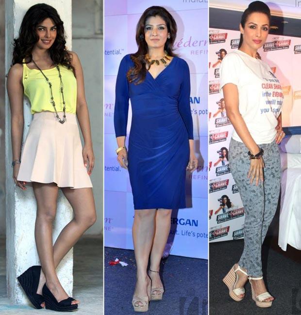 Priynka Chopra, Malaika Arora and Twinkle Khanna