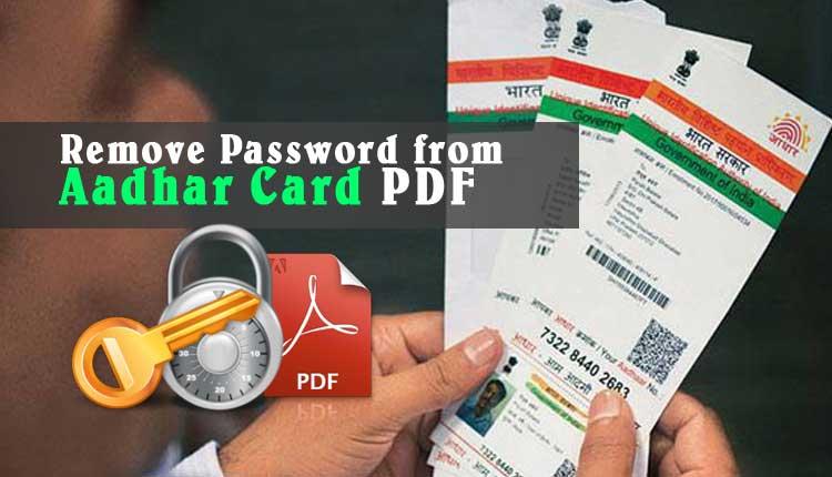 password for aadhar card download