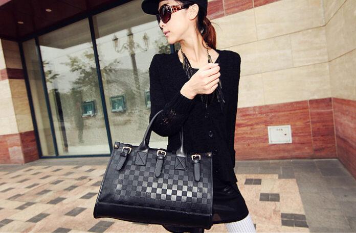 Girl with beautiful back bag
