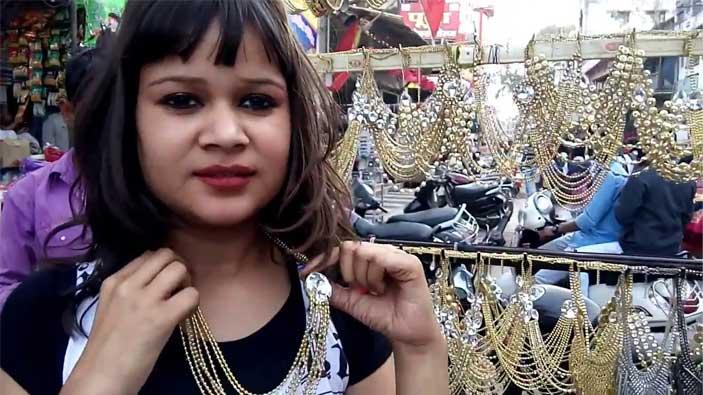 Ganjipura market in Jabalpur