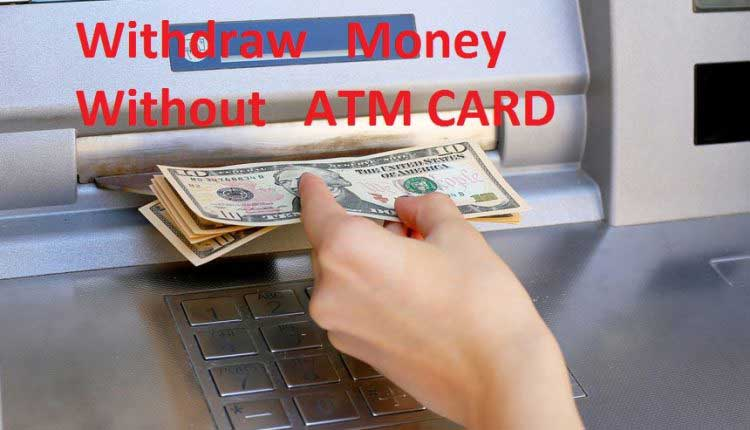 withdraw money from bank without id