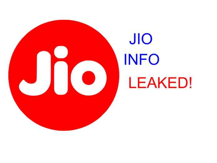 Information About Reliance Jio Users leaked With Name,Number and Address