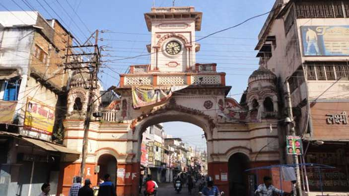 Kamaniya gate Market in Jabalpur