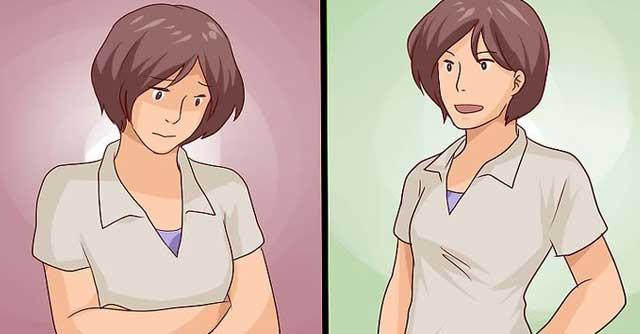 Right body Posture for school girls