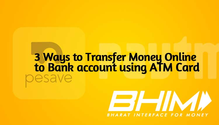 3 Ways To Transfer Money From Atm Debit Another Bank Account Online