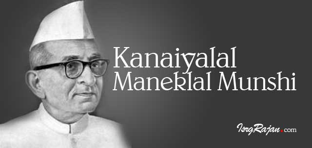 Kanaiyalal Maneklal Munshi