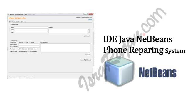 Java Mobile Phone Repairing Service Center Project
