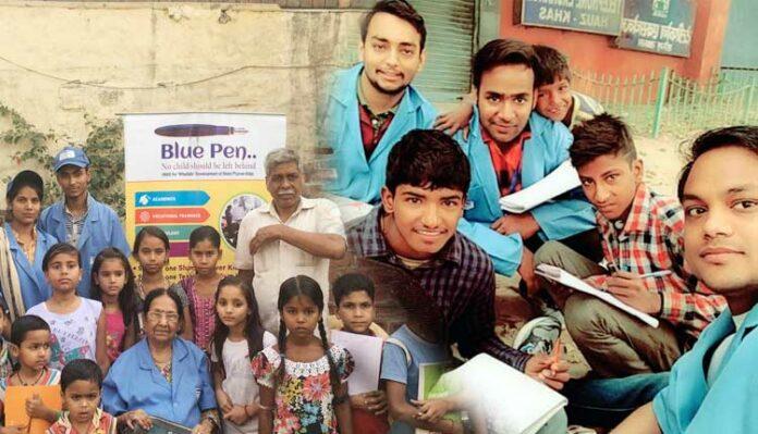Isrg Rajan Blue Pen NGO