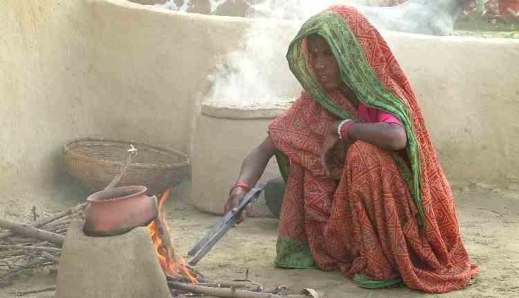 Indian Village Women Cooking