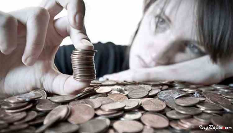 Money Stress Indian Girl
