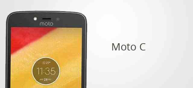 Moto C