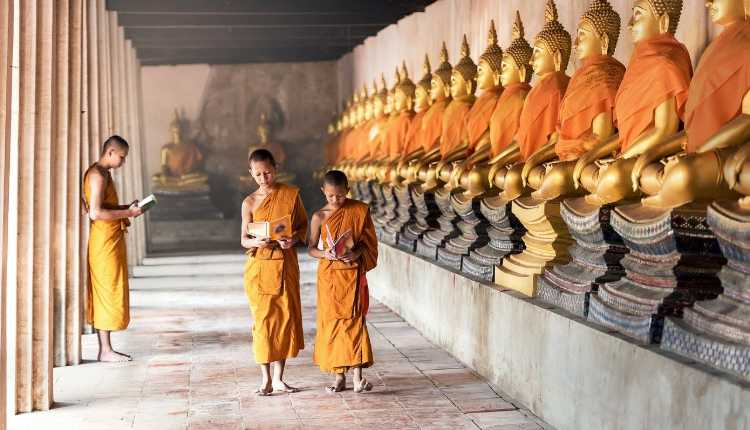 Cambodia, Buddhism, India, Relationship